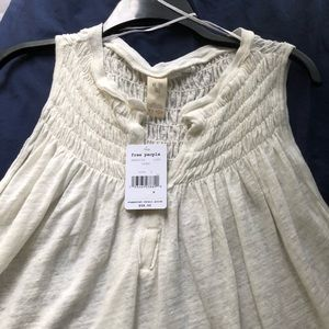 FREE PEOPLE new cotton top. Light and airy! NWT
